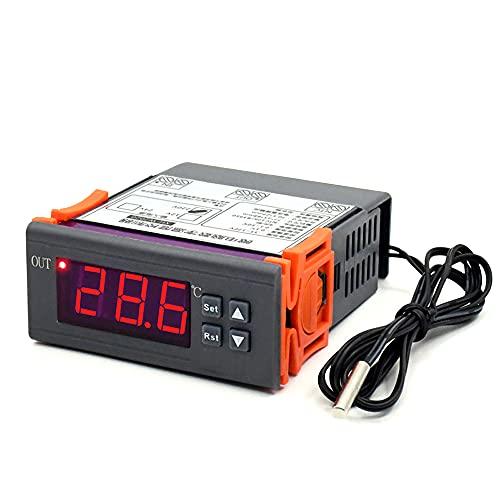 W2020 220 V Pantalla Digital electrónica en Miniatura termostato Inteligente Controlador de Temperatura Interruptor de calefacción y refrigeración Temperatura Constante 0,1 precisión