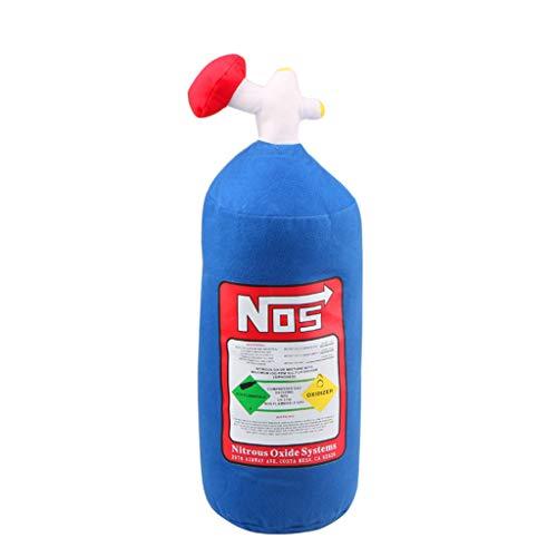 planuuik NOS Stikstof Oxide Fles Kussen Auto Hals Rest Kussen Rugleuning Stoel Decoratie