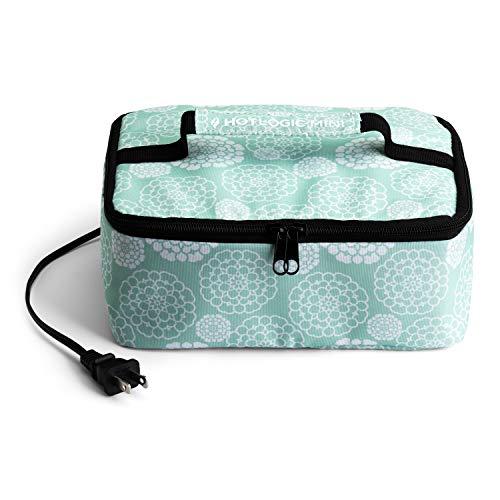 HotLogic Mini four portable Aqua Floral