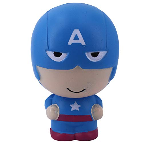 MagicBalls Squishy Toys Jumbo Slow Rising Super Soft with Scented to Kids for Venting and Relaxing (Captain America)