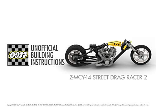 0937 UNOFFICIAL BUILDING INSTRUCTIONS, Z-MCY-14 STREET DRAG