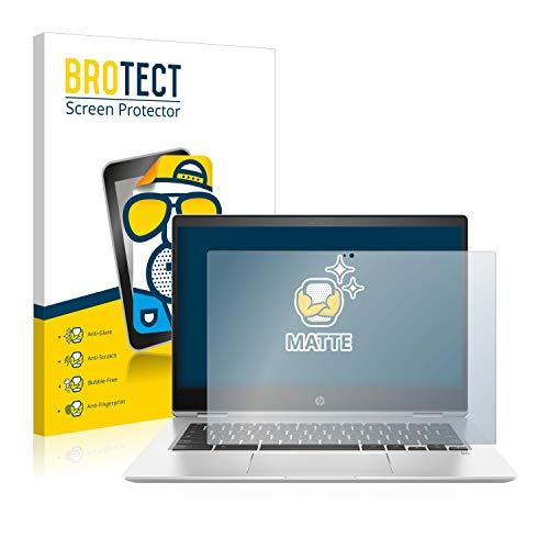 BROTECT Entspiegelungs-Schutzfolie kompatibel mit HP Chromebook x360 14 G1 Bildschirmschutz-Folie Matt, Anti-Reflex, Anti-Fingerprint