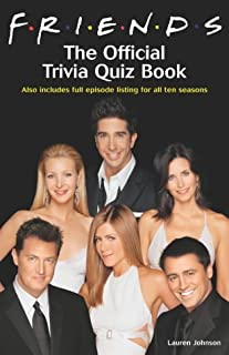 Friends: The Official Trivia Quiz Book (0755313232) | Amazon price tracker / tracking, Amazon price history charts, Amazon price watches, Amazon price drop alerts
