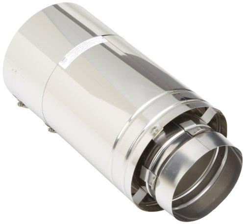 Hayward UHXHD6PIPE18 - Tubo de ventilación de repuesto de 6 pulgadas para calentadores Hayward Universal H-Series Low NOx HeatFab Kit...