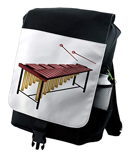 Lunarable Marimba Mochila, Madera Beaters Percussion, Durable Bolsa Multiusos