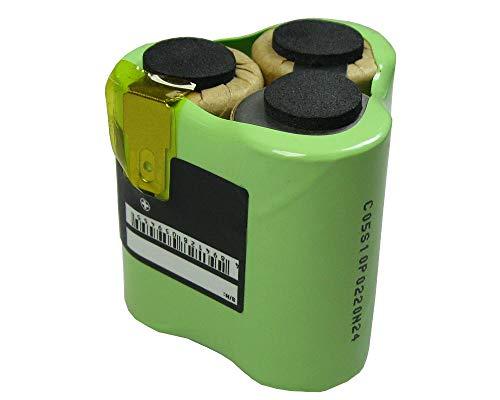 Hochleistungs Ni-MH Ersatz Akku Batterie Battery 3,6V/3,7V / 3000mAh für AEG Liliput AG1413 Liliput Classic 1 ersetzt 520103 für Handstaubsauger