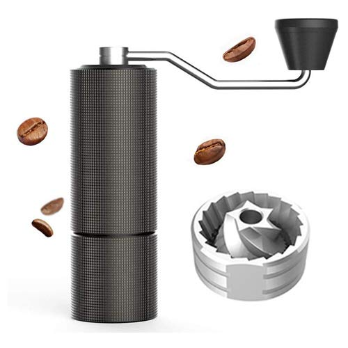 TIMEMORE chestnut C2 coffee grinder updated New upgrade electricity any more Portable Hand manual grinder grind machine mill with double bearing positioning (TIMEMORE C2)