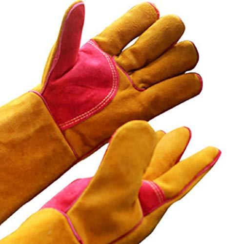 YGD barbecuehandschoenen, las- / barbecue- / open haard- / camping- / outdoor- / slijtage-/keuken-, thuis-, industriële en andere handschoenen