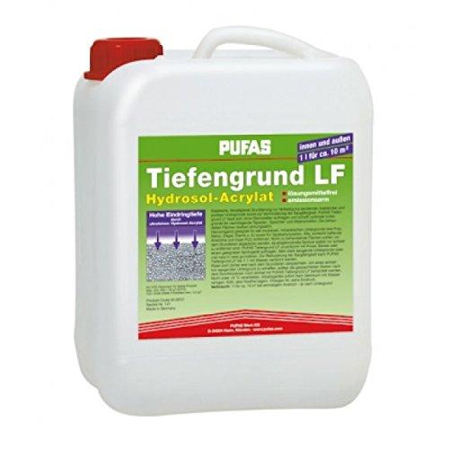 Pufas Tiefengrund LF 5 Ltr Hydrosol-Acrylat Tiefgrund Grundierung innen u. außen