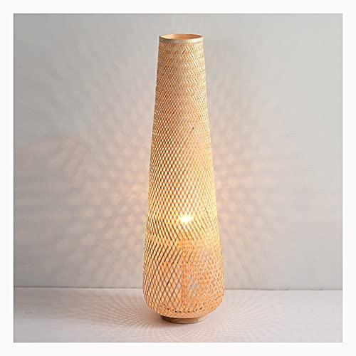 WYZ Lámpara de pie, Diseñador Lámpara Vertical Estilo japonés Sala de Estar Dormitorio Nordic Suelo de Cama Lámpara (Color : A)