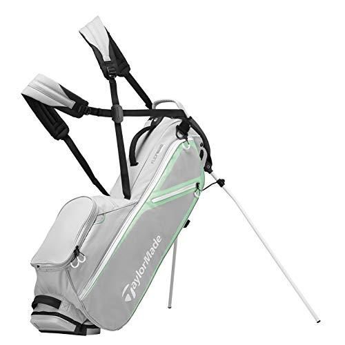 TaylorMade Flextech Lite, Borsa con Supporto, per Golf Donna, Grey, Taglia Unica