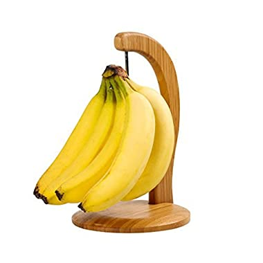Banana Hanger Bamboo Stand Holder Grape Headphone Towel Light Weight Kitchen Item Hanger Storage Stainless Steel Hook