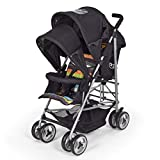 Duo Double Buggy Twin 2 Tandem Pushchair Stroller 2 seat Units, Fully Reclining