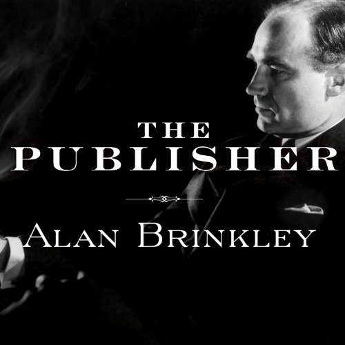 The Publisher audiobook cover art
