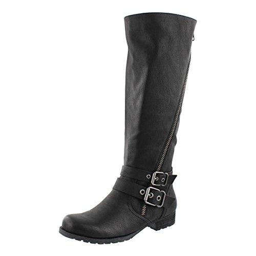 SoftMoc Women's Brigetta Riding Boot Black 36 M EU