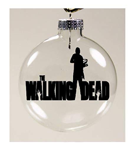 Daryl Dixon Walking Dead Walker Zombie Ornament Shatterproof Disc