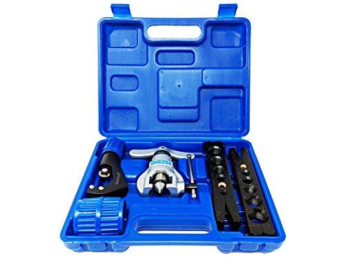 Klimaanlage Bördelwerkzeug Zoll u. Millimeter mit Koffer R407c/R410a f. Kupferrohr