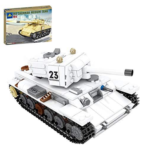 Tewerfitisme KV-1 Tanque pesado, serie militar, bloques de construcción, juguetes de aprendizaje DIY con Lego