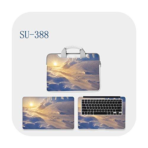 Funda para portátil de la piel de la bolsa de mensajero DIY de corte manual de película protectora de 11-15/17' cielo paisaje multi-patrones se pueden personalizar-SU-388-14
