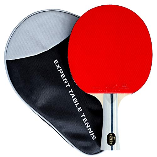 Palio Expert 3.0 Table Tennis Racket & Case - ITTF Approved, Beginner Ping Pong Bat