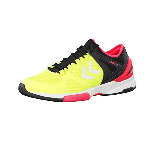 Hummel Herren Handballschuhe Aerocharge HB 200 60403 Safety Yellow/Black 45