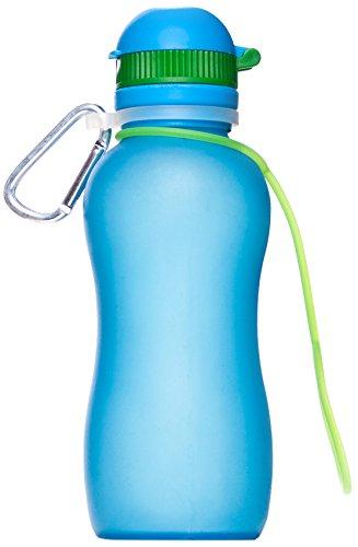 Zielonka Viv Bottle 3.0 Gourde en Silicone, Bleu, 500 ML