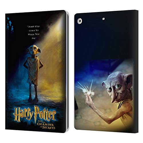 Official Harry Potter Dobby Poster Chamber Of Secrets III Leather Book Wallet Case Cover Compatible For Apple iPad 10.2 (2019)/(2020)