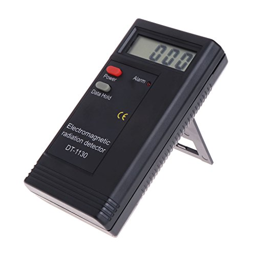 Qiman Medidor digital de radiación electromagnética portátil EMF DT-1130