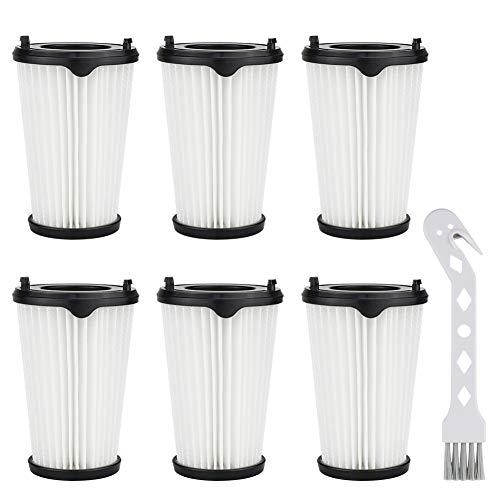 K KUMEED 6 Stück Filter und 1 Stück Kleine Bürste für AEG CX7-2 Ergorapido Staubsauger, Artikelnummer AEF150, Hepa-Filter Ersatzfilter Austauschfilter für alle CX7-2 Modelle