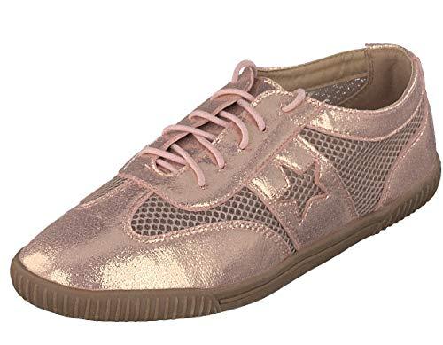 Linea Scarpa Toskana Sneaker Sommer extra leicht Schnürschuhe für Damen: Größe: 40 EU   Farbe: Rosa