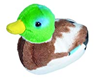 With Real Bird Calls Realistic looking Soft Plush Hangtag with information Hand-Crafted