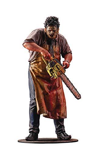 Kotobukiya The Texas Chainsaw Massacre: Leatherface (1974 Slaughterhouse Version) ArtFX Statue, Multicolor, 6 inches