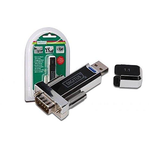 Digitus USB 1.1 op seriële adapter zwart