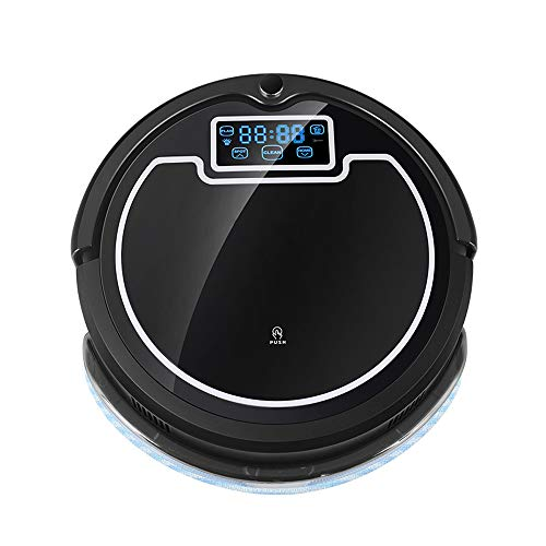 Cheap SCKL Robot Vacuum Cleaner Wash Home, Water Tank, LCD, UV, Wet & Dry, Schedule, Virtual Blocker...