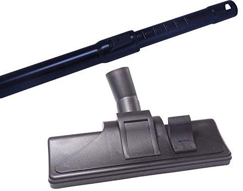 Aluminium Staubsauger 35mm Teleskoprohr kompatibel für Miele Parkett und Co 5000 / XL im Set mit Staubsaugerdüse und 5 Duftstäbchen