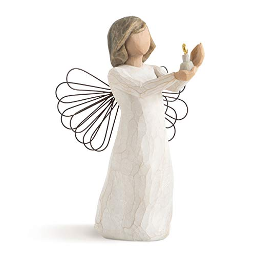 Willow Tree 26235 Figur Engel der Hoffnung, Angel of Hope, 3,8 x 3,8 x 14 cm