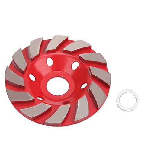 Jopwkuin Disco de Pulido de Diamante de Primera Calidad, Disco de Pulido de Corte de Piedra de hormigón de Alta Velocidad para una Herramienta Esencial para el Pulido en seco y en húmedo.