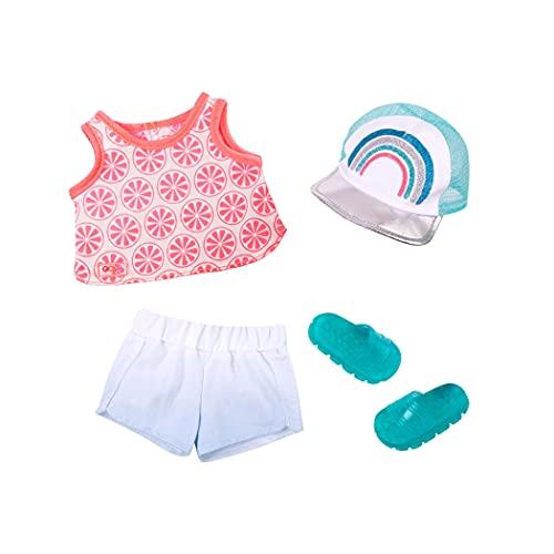 Our Generation- Vestido Rainbow para muñecas, Color único, bambole da 46cm (Pro Toys BD30337Z)