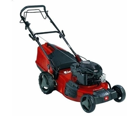 Einhell RG-PM 51 S Self Propelled Petrol Lawn Mower with Briggs and Stratton 675 Series Engine and 51 cm Cutting Width - Multi-Colour