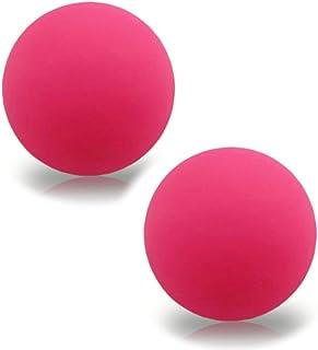 Premism(プレミズム) マッサージ ストレッチ ボール トレーニング用 筋膜リリース 小さなヨガボール (ローズピンク)