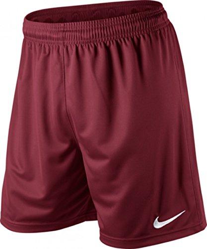 Nike Pantaloni corti sportivi Park Knit per calcio, Uomo, Rosso (Weinrot), S