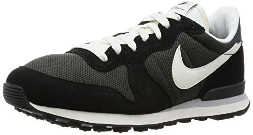 Nike Herren Internationalist Laufschuhe, Schwarz (Deep Pewter/Sail/Black/Anthracite/Wolf Grey/Sail), 38.5 EU