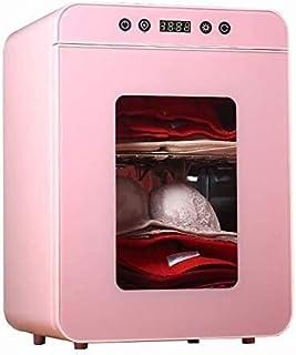 FHGJ Kompakte Desinfektionsterilisationstrockner, Entfeuchtung und Geruchsentfernung Medium Temperatur Wäschetrockner for Masken Unterwäsche Handy Kinderprodukte Wäschetrockner 22L 113 Color : Pink