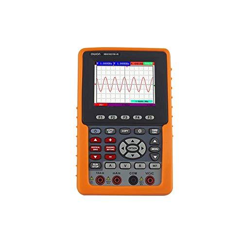 OWON HDS2061M-N Osciloscopio de mano de 1 canal y multímetro 60 MHz 500 MS/s