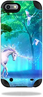MightySkins Protective Vinyl Skin Decal Compatible with Mophie Juice Pack iPhone 6 Plus wrap Cover Sticker Skins Unicorn Fantasy