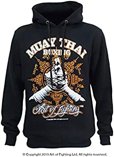 Art of Fighting Muay Thai Boxing Hoodie - Muay Boran