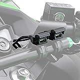 デイトナ バイク専用電源 USBx2 USB2口合計5V/2.1A ブレーキスイッチ割り込ませタイプ メインキー連動 97041