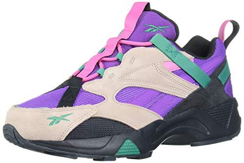 Reebok AZTREK 96 Adventure Sneaker, Buff/True Grey/Emerald, 9 M US