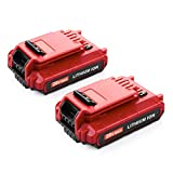 Best Cordless Power Tools - Energup 2Pack PCC682L Replacement Porter Cable 20V Max Review