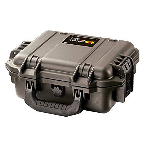 PELI Storm IM2050 Maleta técnica pequeña para la protección de cámaras, electrónicos y Otros Equipos frágiles, IP67 Resistente al agua5L de Capacidad, Fabricada en EE.UU, sin Espuma, Color Negro
